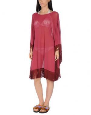 Пляжное платье FISICO. Цвет: пурпурный