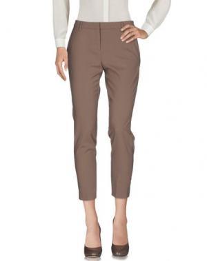 Повседневные брюки TRUE ROYAL. Цвет: хаки