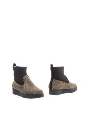 Полусапоги и высокие ботинки 181 BY ALBERTO GOZZI. Цвет: темно-коричневый