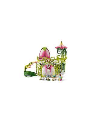 Волшебный замок эльфов с аксессуарами SCHLEICH. Цвет: зеленый, салатовый, розовый