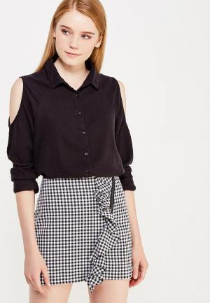 Рубашка Jennyfer. Цвет: черный