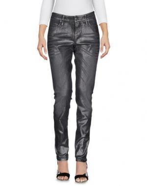 Джинсовые брюки CAMBIO. Цвет: свинцово-серый
