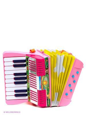 Аккордеон VELD-CO. Цвет: розовый, желтый, белый, индиго