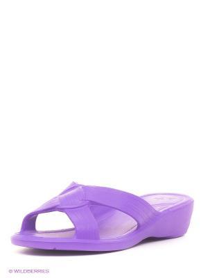 Шлепанцы Дюна. Цвет: фиолетовый