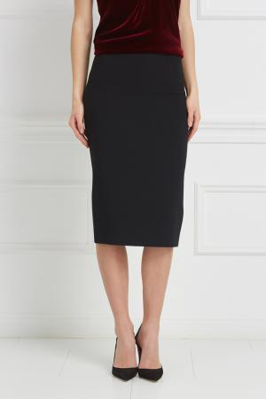 Однотонная юбка Arreton Roland Mouret. Цвет: черный