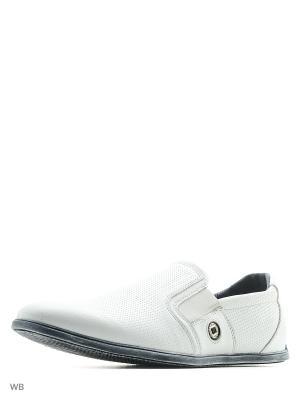 Ботинки HCS. Цвет: белый