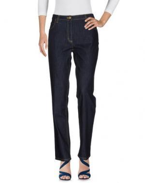 Джинсовые брюки ALVIERO MARTINI 1a CLASSE. Цвет: синий