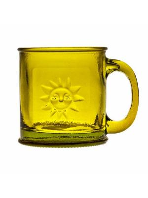 Кружка SAN MIGUEL. Цвет: желтый