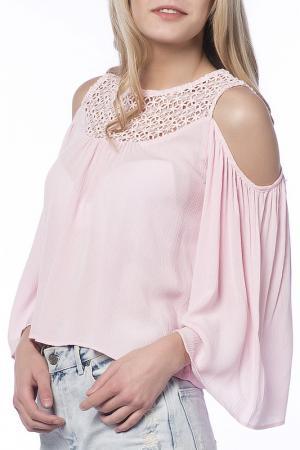 Блузка Dilvin. Цвет: розовый