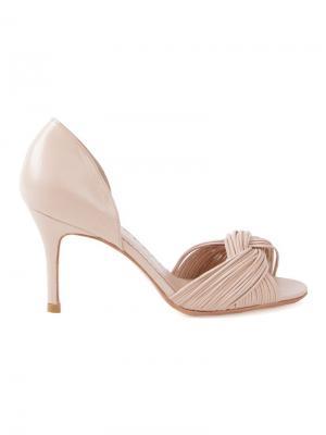 Туфли-лодочки Sarah Chofakian. Цвет: телесный