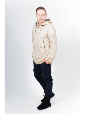 Куртка ALPEX. Цвет: бежевый