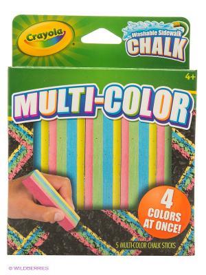 Мел для асфальта многоцветный Crayola. Цвет: зеленый