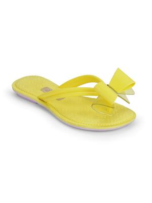 Пантолеты Grendha. Цвет: желтый