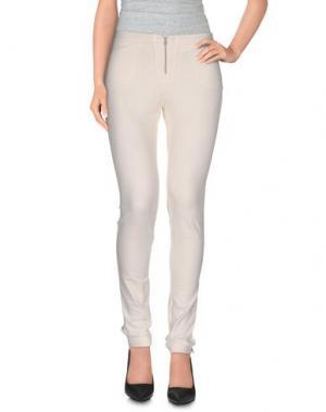 Повседневные брюки AXARA PARIS. Цвет: белый