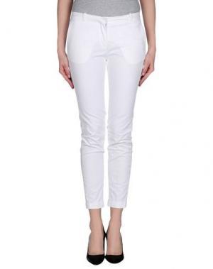 Повседневные брюки GOOD MOOD. Цвет: белый