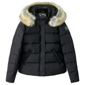 Куртка стеганая короткая с капюшоном SUD EXPRESS. Цвет: черный