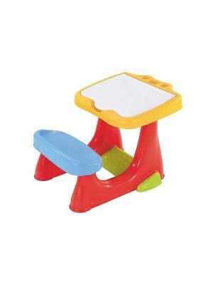 Детская игрушка Парта ELC. Цвет: красный, голубой, желтый