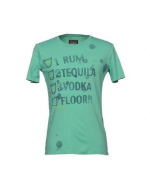 Футболка RA-RE. Цвет: светло-зеленый