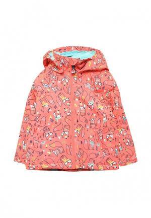 Куртка утепленная Roxy. Цвет: коралловый