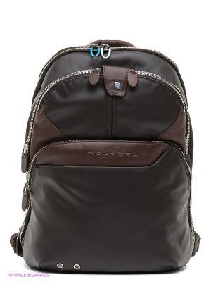 Рюкзак PIQUADRO. Цвет: коричневый
