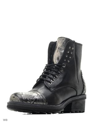 Ботинки KHRIO. Цвет: черный, серый