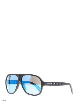 Солнцезащитные очки DL 0097 02X Diesel. Цвет: черный
