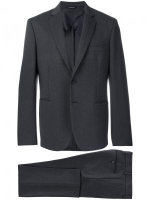 Однобортный костюм-двойка T57tonello. Цвет: синий