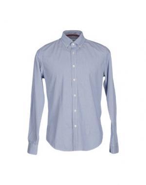 Pубашка VINTAGE 55. Цвет: грифельно-синий