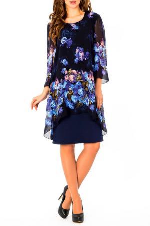 Платье S&A style. Цвет: сине-голубой