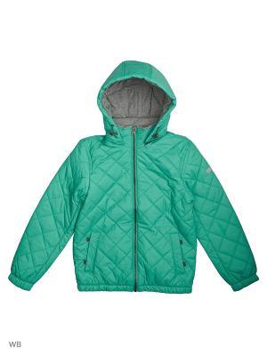 Куртка SELA. Цвет: зеленый