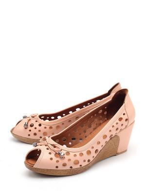 Туфли SPECTRA. Цвет: розовый