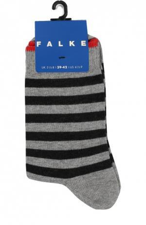 Носки в полоску Falke. Цвет: серый