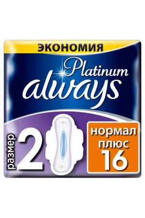 Прокладки  Platinum 16 шт ALWAYS. Цвет: none