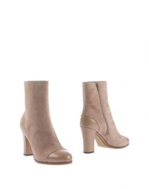 Полусапоги и высокие ботинки L' AUTRE CHOSE. Цвет: голубиный серый