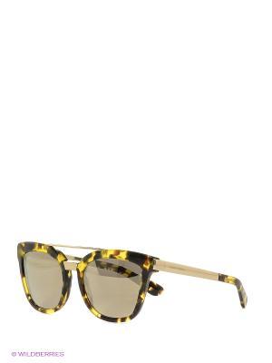 Очки солнцезащитные DOLCE & GABBANA. Цвет: желтый, черный