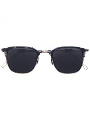 Квадратные солнцезащитные очки Eyevan7285. Цвет: чёрный