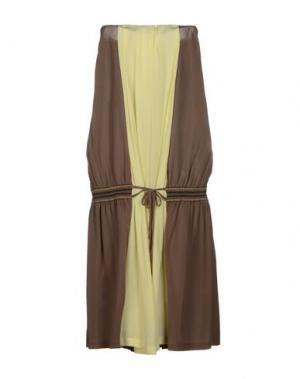 Платье до колена E_GO' SONIA DE NISCO. Цвет: хаки