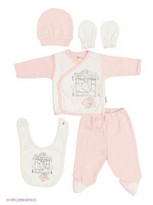 Подарочный комплект Bebitof Baby. Цвет: розовый