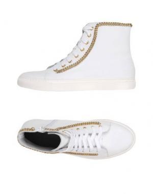 Высокие кеды и кроссовки GEORGE J. LOVE. Цвет: белый