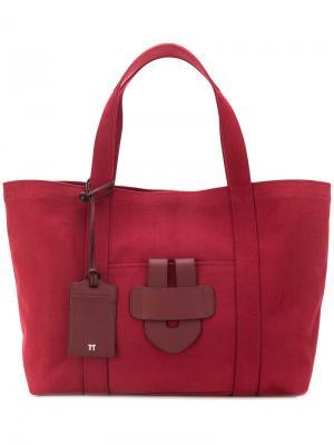 Большая сумка-тоут Simple Tila March. Цвет: красный