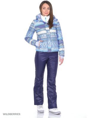 Куртка Stayer. Цвет: голубой, белый, серый, фиолетовый