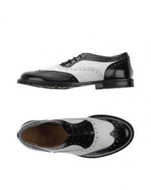 Обувь на шнурках L'F SHOES. Цвет: белый