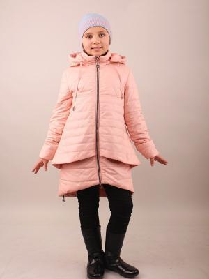 Пальто Fobs. Цвет: бледно-розовый