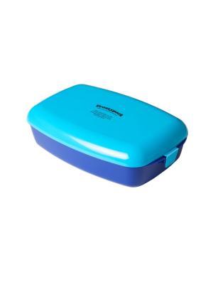 Фроззипак контейнер с охлаждающим элементом №2 Голубой/Бирюзовый Lurch. Цвет: бирюзовый, голубой