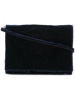 Сумка на плечо с откидным клапаном Zilla. Цвет: синий