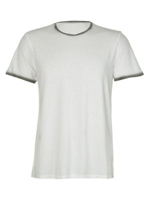 Футболка Kangra. Цвет: белый