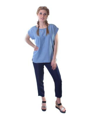 Блуза Minimum. Цвет: голубой
