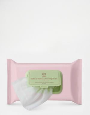 Pixi Очищающие салфетки для снятия макияжа. Цвет: бесцветный