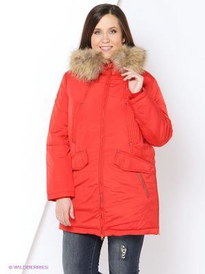 Куртка VIZANI. Цвет: красный