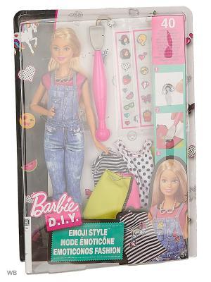 Игровые наборы EMOJI в ассортименте Barbie. Цвет: зеленый